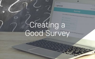 Creating a good survey