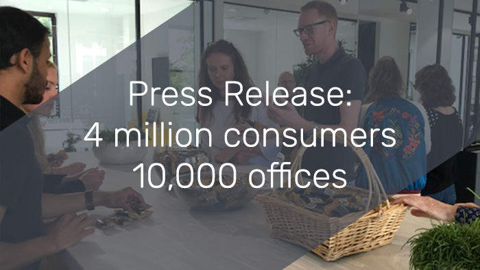Press Release: Innovative sampling and employee reward business gemsatwork expands its network to include 4 million consumers and 10,000 UK offices.