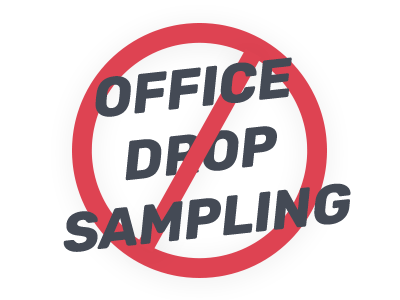 gemsatwork office drop sampling