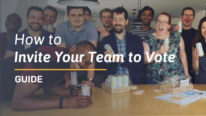 Invite Your Team to Vote – Guide