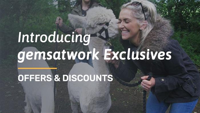 Introducing gemsatwork Exclusives!