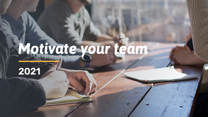 5 ways to motivate & inspire your team